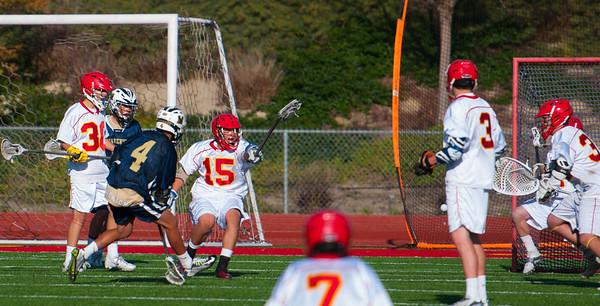 LCC JV Lacrosse vs. Cathedral 4.3.14