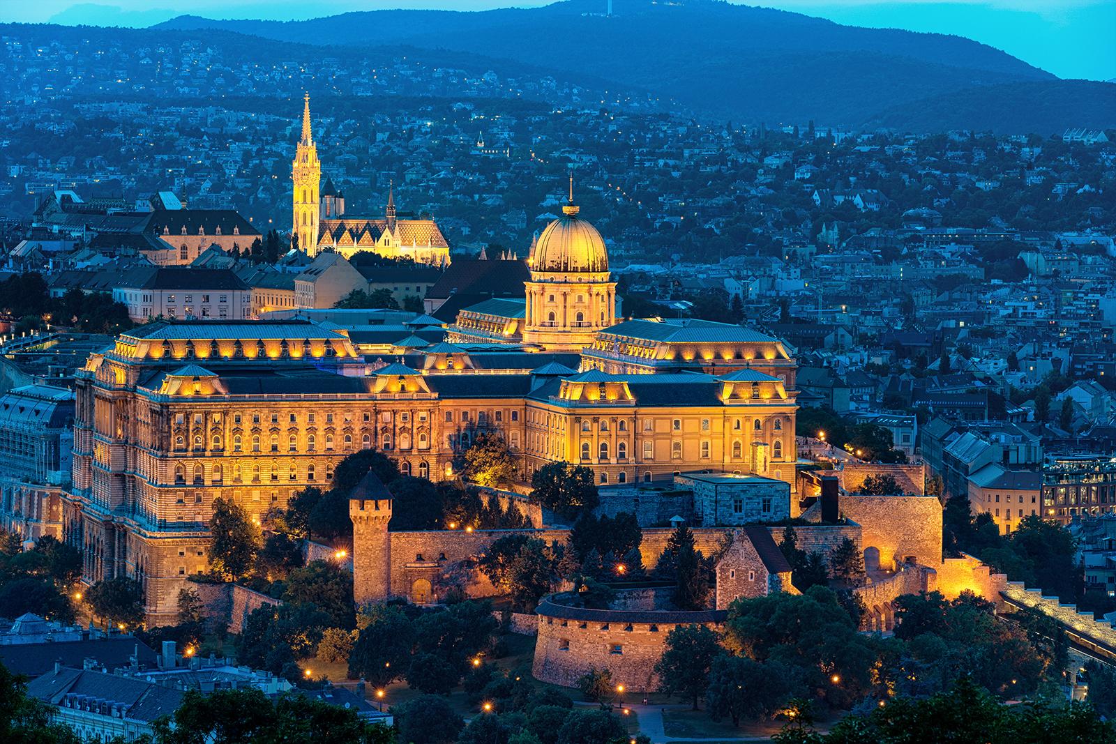 Castle, Budapest, Hungary, longexposure, Sony a7iii, sony 70-200 F2.8, Budapest with the Sony A7III
