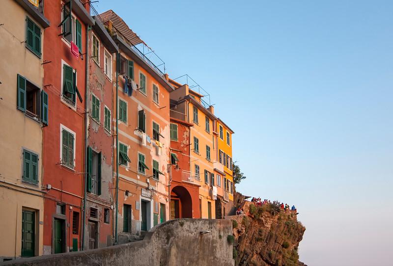 Colourful Houses, Riomaggiore, Cinque Terre