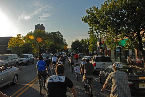 2010-04-30 - Morristown Critical Mass Bike Ride Part 2 of 2