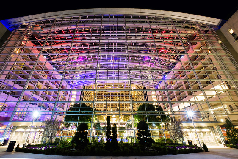 Colorful Gaylord National Resort