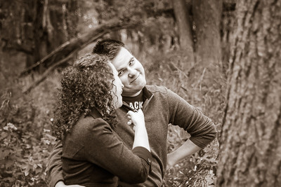 Lee and Saras Stevens Point Engagment