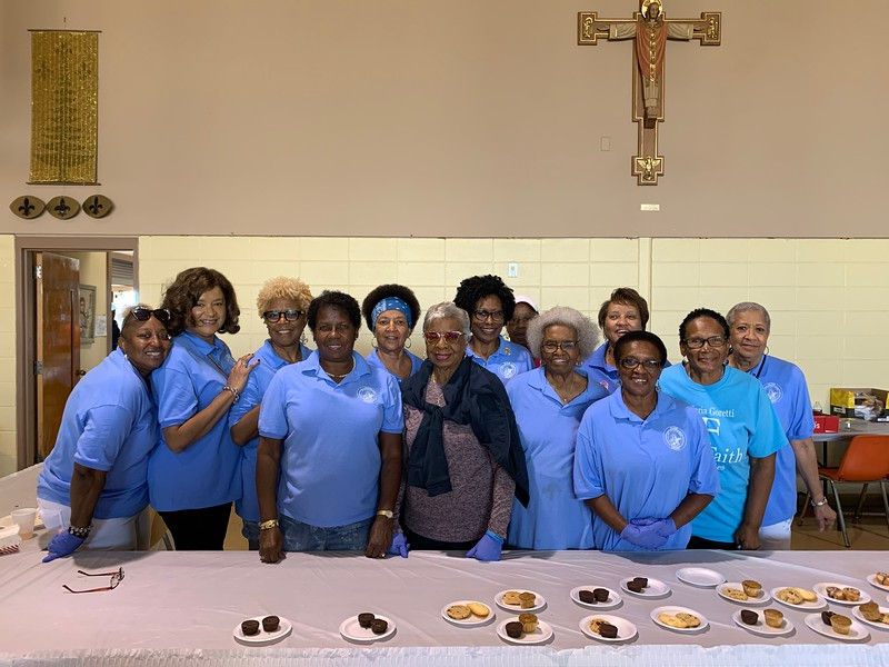 Pictured here are the Ladies of the St. Maria Goretti Altar Society