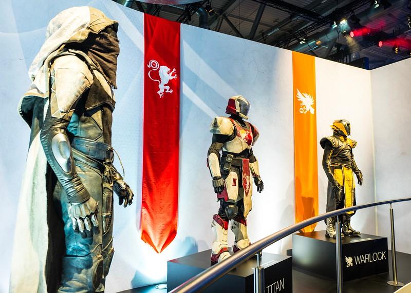 Destiny 2 characters at Gamescom 2017