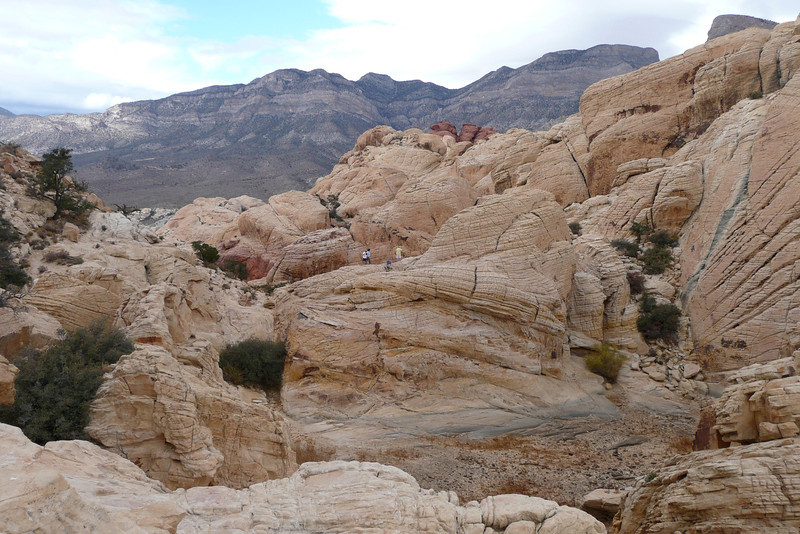 The Tank Is Empty! Calico Tanks Trail, Red Rock Canyon