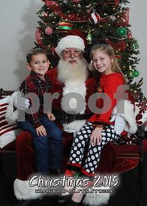 2015 - Dalton Utilities Santa Portraits