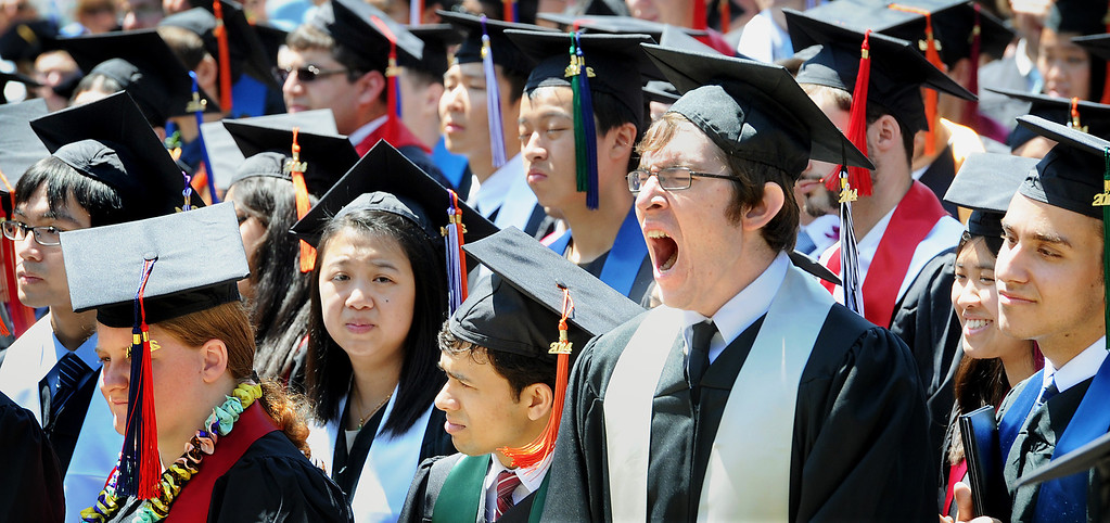 . The 120th Annual Commencement at California Institute of Technology Friday, June 13, 2014.(Photo by Walt Mancini/Pasadena Star-News)