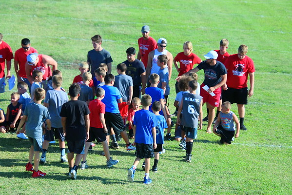 WHS Developmental Football Camp  072919