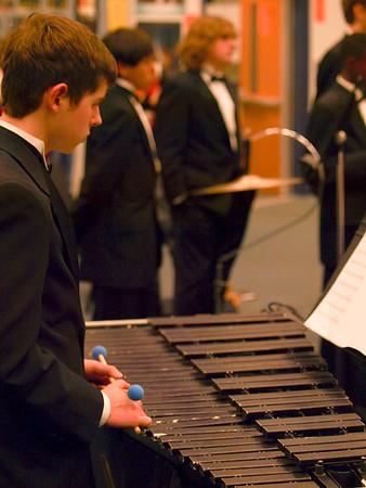 2013-02-27 RHS Wind Ensemble - LGPE Performance (Photos/Video)