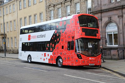 Lothian Poppy Bus 2018