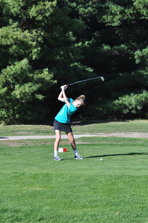 Girls Golf - Palmyra Dual - 9/30/10