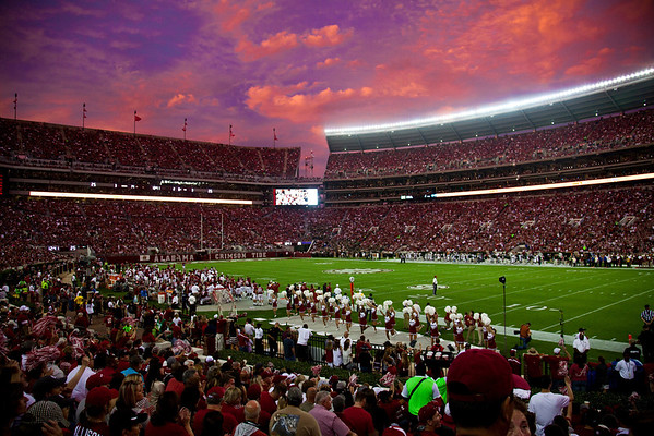 Bryant Denny Stadium - View from your seats