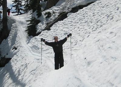 Spring skiing Alpental May 2008