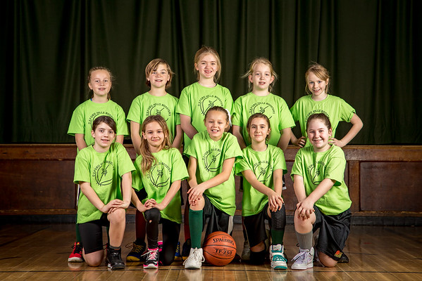 2016-2017 Youth Basketball Cooper & Green