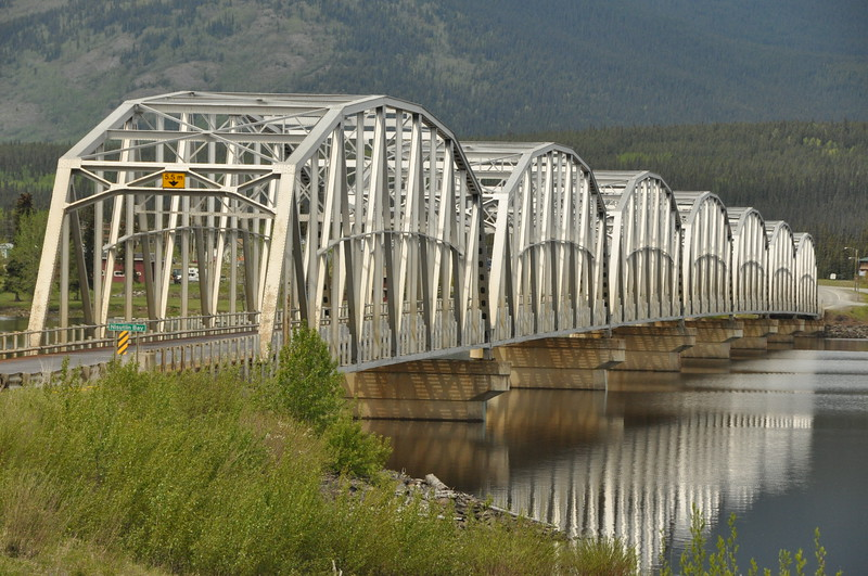 Nisutlin Bay Bridge - Teslin