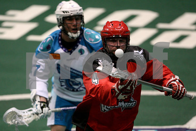 4/14/2012 - Calgary Roughnecks vs. Rochester Knighthawks - Blue Cross Arena, Rochester, NY