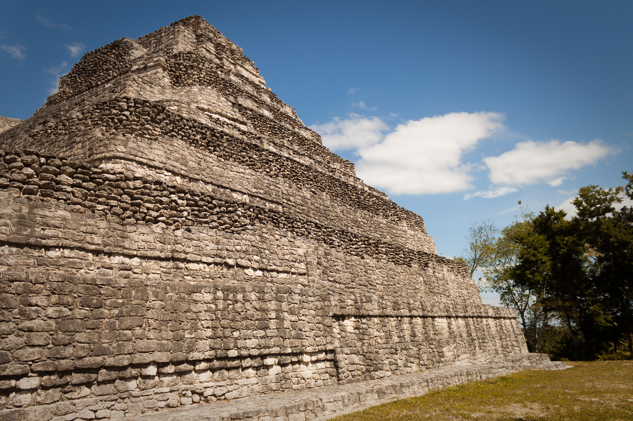 Mayan Ruins at Chaccoben
