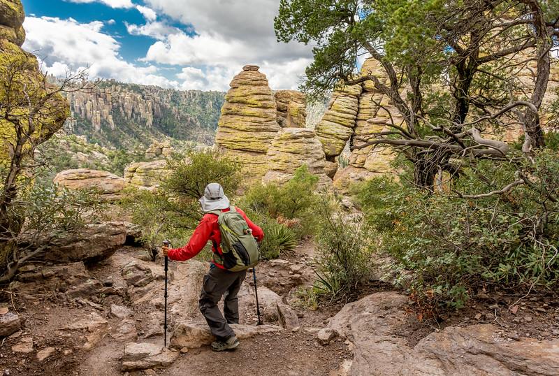 Chiricahua National Monument Hiker #1