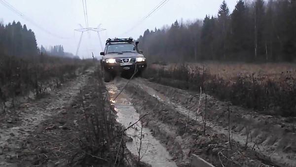 Ilyinsky Rubezhi, razvedka