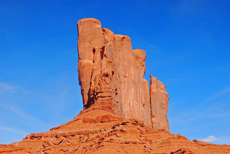 Golden monument - Arizona