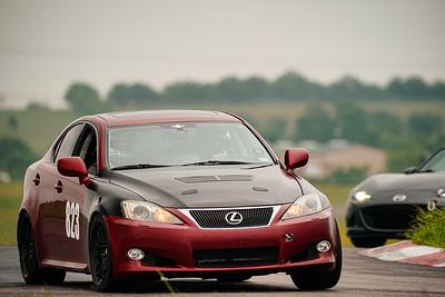 823 Red/Black Lexus