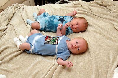 Jack and Dylan - 5 weeks old