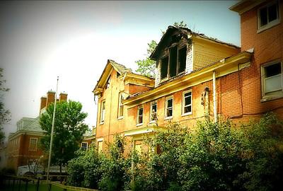 Fiji House Burnned