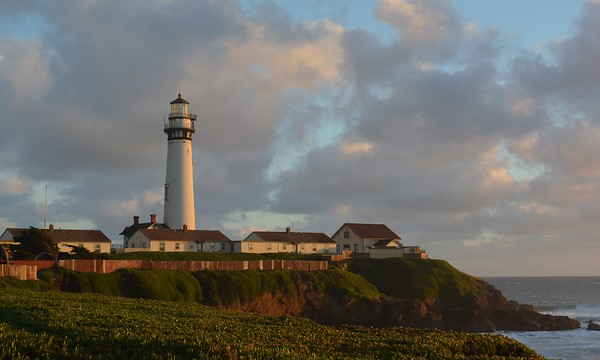 Christmas Eve Sunset at Pigeon Point Lighthouse