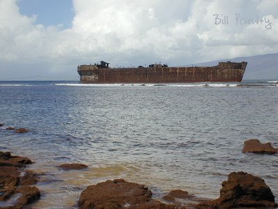 Lenai, Shipwreck Beach