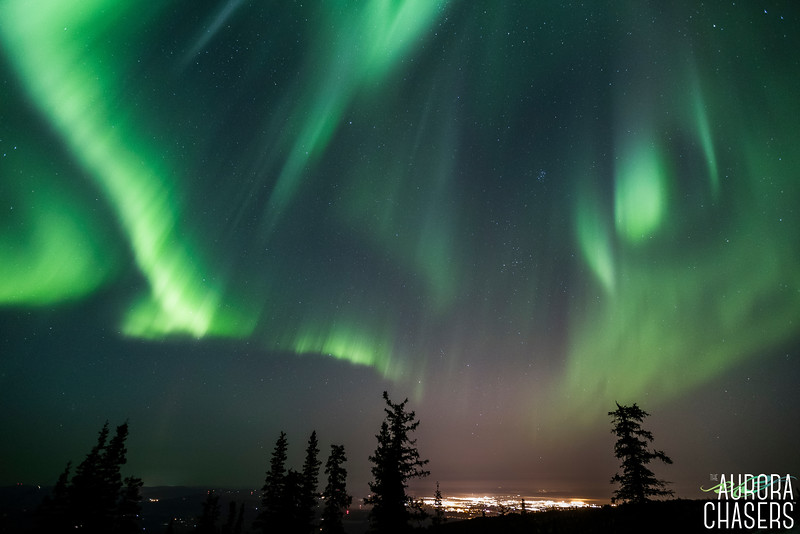 Lights over Fairbanks