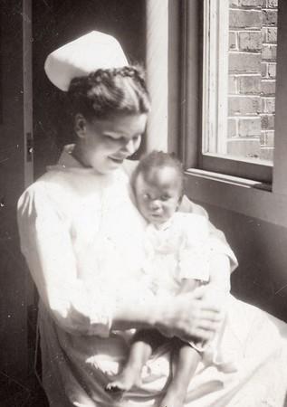 Olive Washington LaGrave Early Life