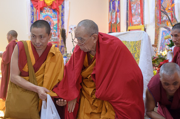 Ganden Tripa, Rizong Rinpoche, White Tara Long Life Initiation