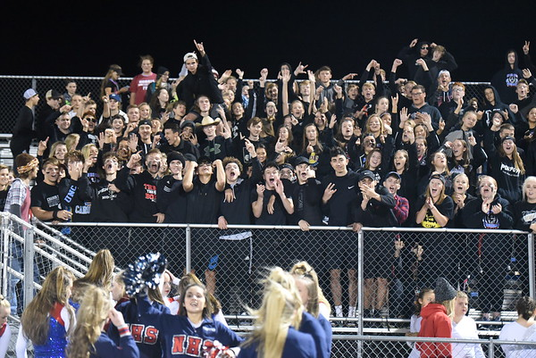 Student Crowd - Beatrice Football game