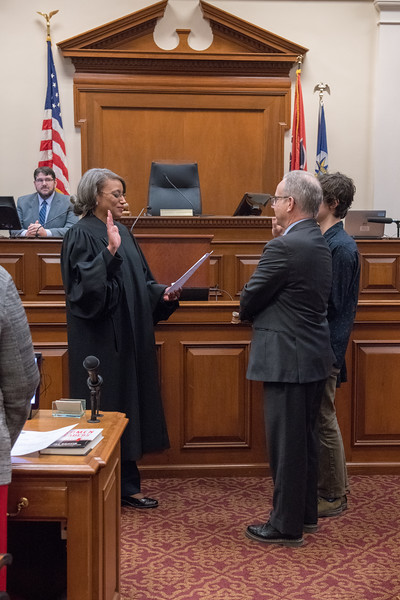 Mayor Briley sworn in 2018