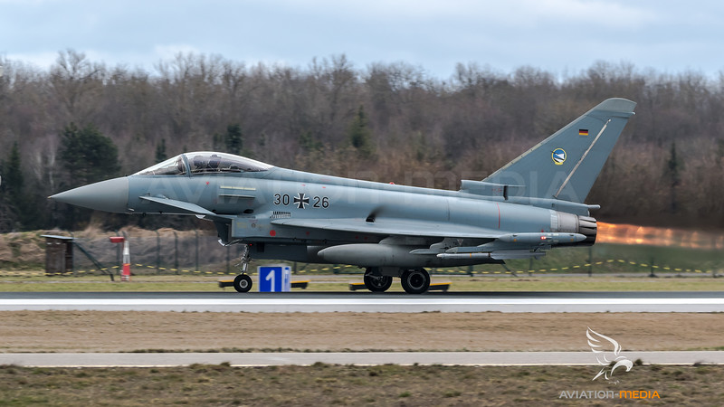 German Air Force TLG74 / Eurofighter Typhoon / 30+26