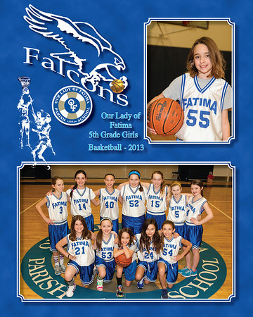 5th Gr Girls hoops 2013