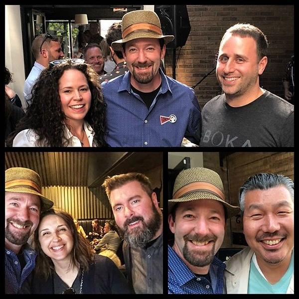Lost in @kayla.l.keats' Lin Manuel Miranda fun Sunday was the amazing BBQ at @bokachicago prior!