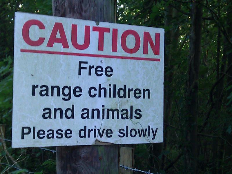 Free range children taste better