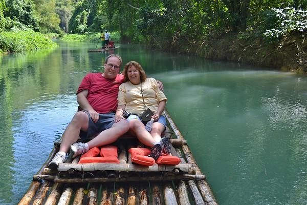 Rafting the Martha Brae River - Jamaica