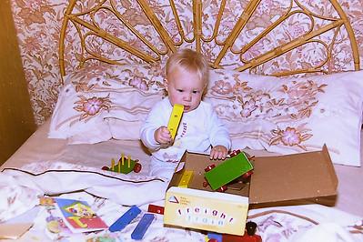Roberts first birthday Sept 1987