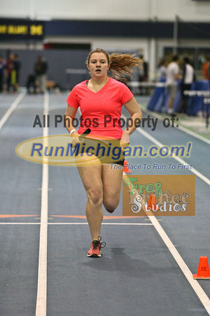 4x800 Girls - January 23 MITS Meet at UM