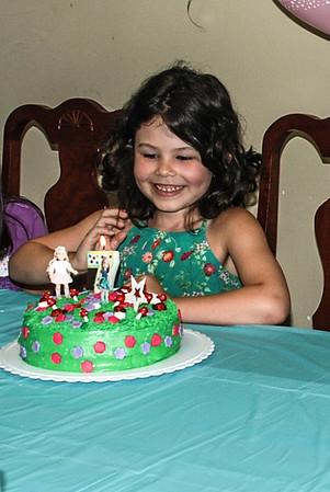 MIRANDA'S 7TH BIRTHDAY
