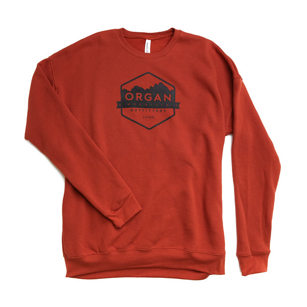 Organ Mountain Outfitters - Outdoor Apparel - Hoodie - Classic Drop Shoulder Sweatshirt - Brick.jpg