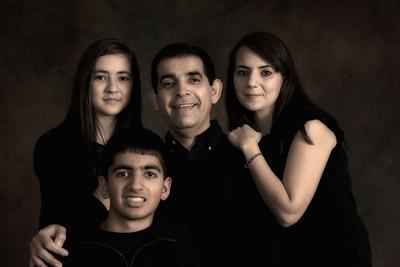 Sangita Family portraits