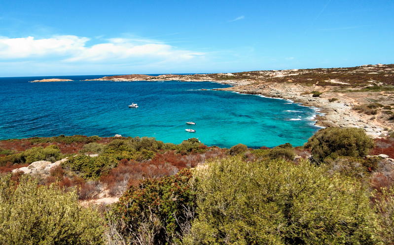 L'Île-Rousse, Island of Corsica, France