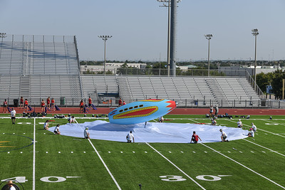 Saturday Memorial Stadium Rehearsal, Sept 7, 2019