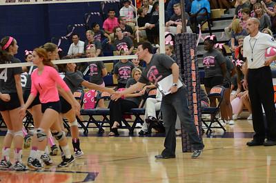 Varsity Girls Volleyball Vs Oswego 2013