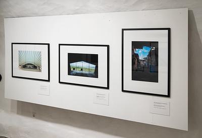 """Dan Mikkini näituse  """"Arhitektuursed rännakud"""" avamine"""