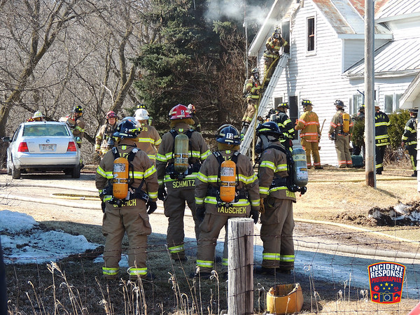 House fire on March 29, 2014