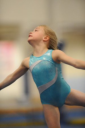 Gymnastics training photos - USA